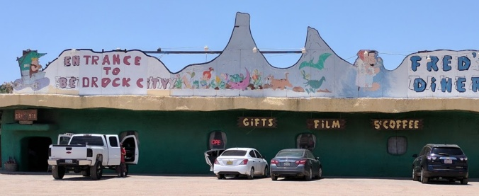 Bedrock City  and Fred's Diner