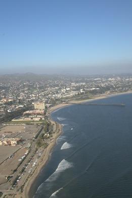 Over that coast north of Ventura